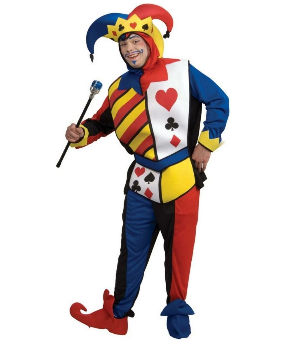 Playing Card Joker Men Costume Deluxe