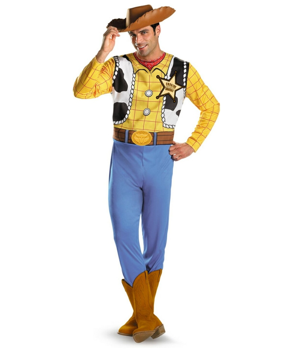 Toy Story Woody Disney Men Costume  sc 1 st  Wonder Costumes & Cowboy Costume - Western Outfit u0026 Halloween Costumes