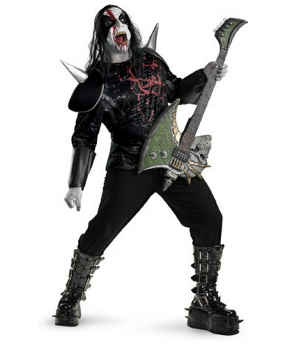 metal mayhem costume adult plus size costume scary