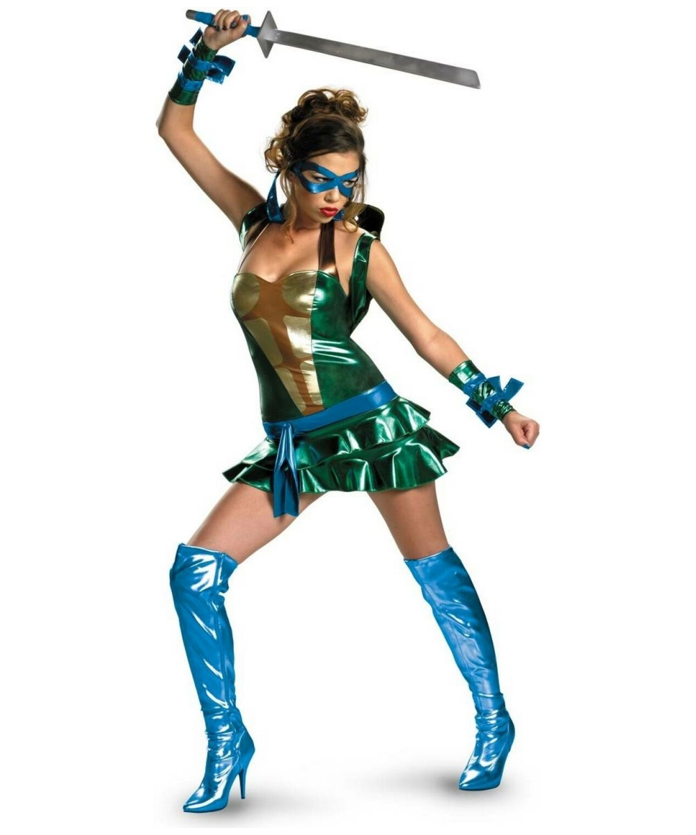 Ninja Turtles Ladies Costume
