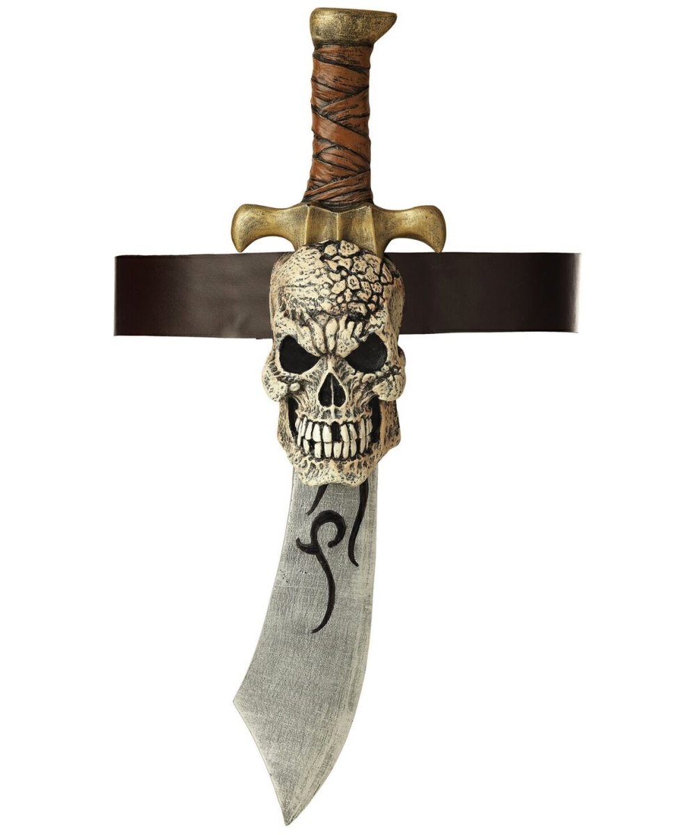 Pirate Sword Skull Sheath