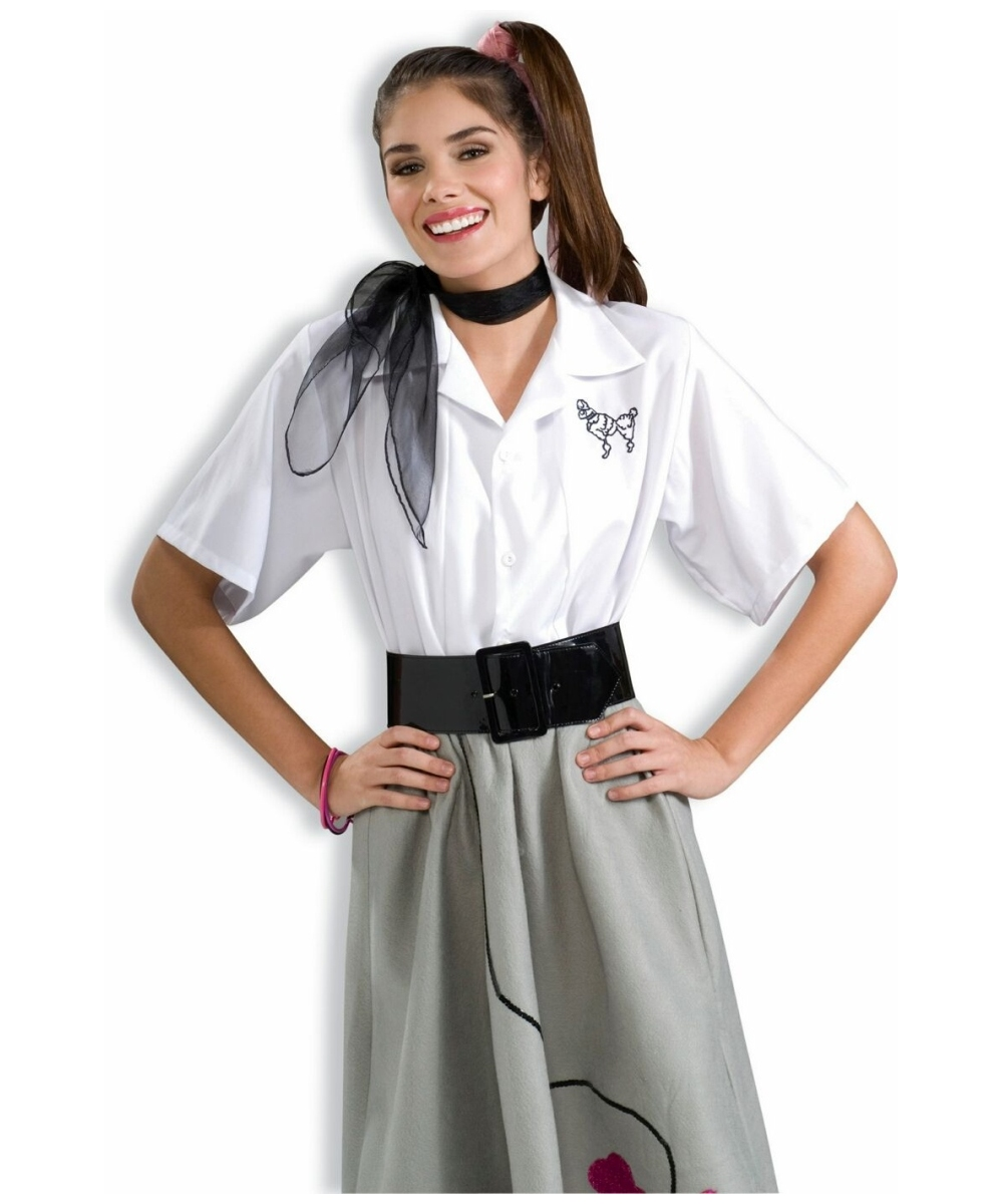 Poodle Blouse Costume