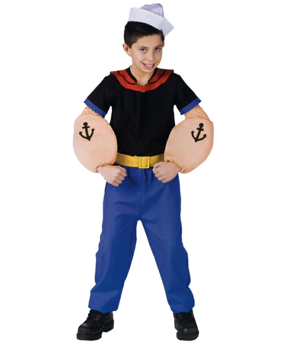 Popeye Kids Costume  sc 1 st  Halloween Costumes & Popeye Costume - Popeye The Sailor Man u0026 Olive Oyl Costumes