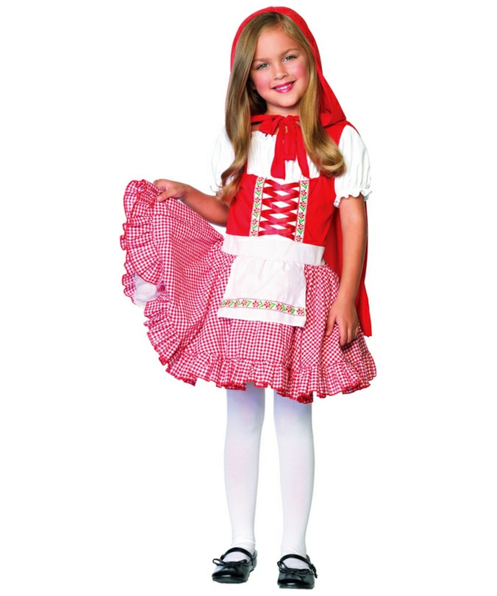 Lil Miss Red Riding Hood Kids Movie Costume Girls Costumes