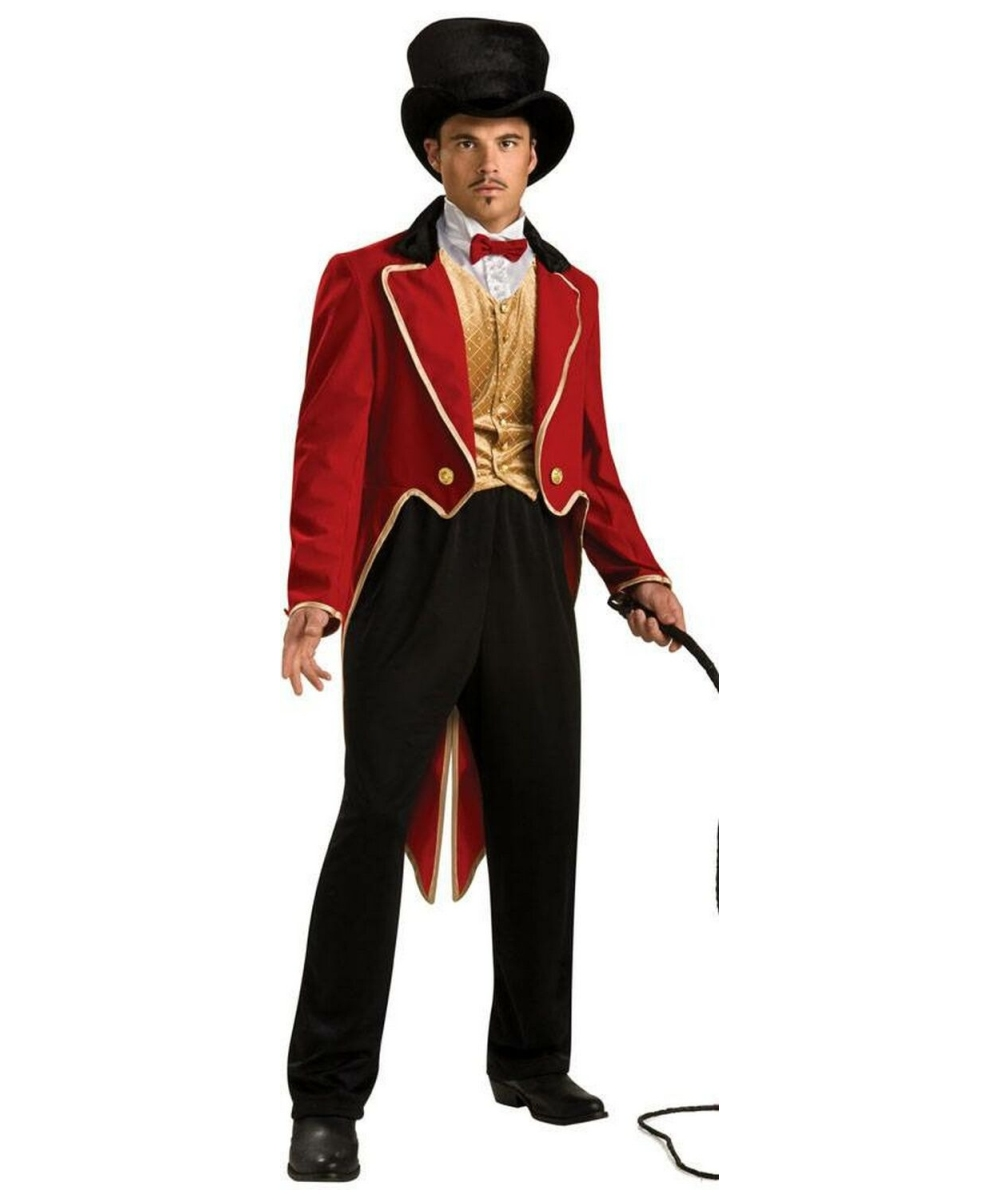 ring master costume adult costume deluxe halloween costume at wonder costumes