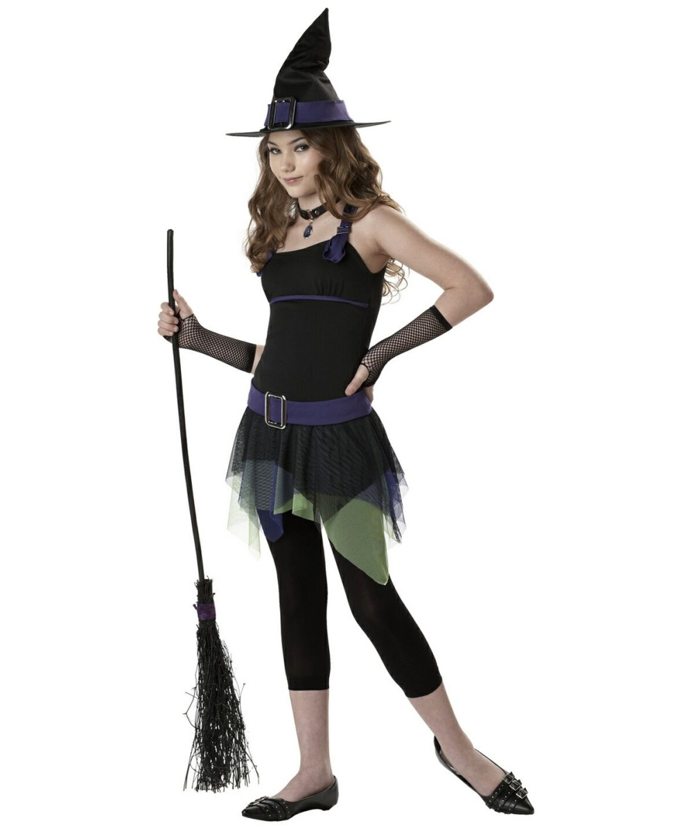 Sassy Witch Kids Halloween Costume