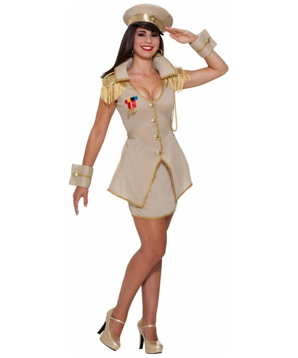 Adult Sexy General Halloween Costume