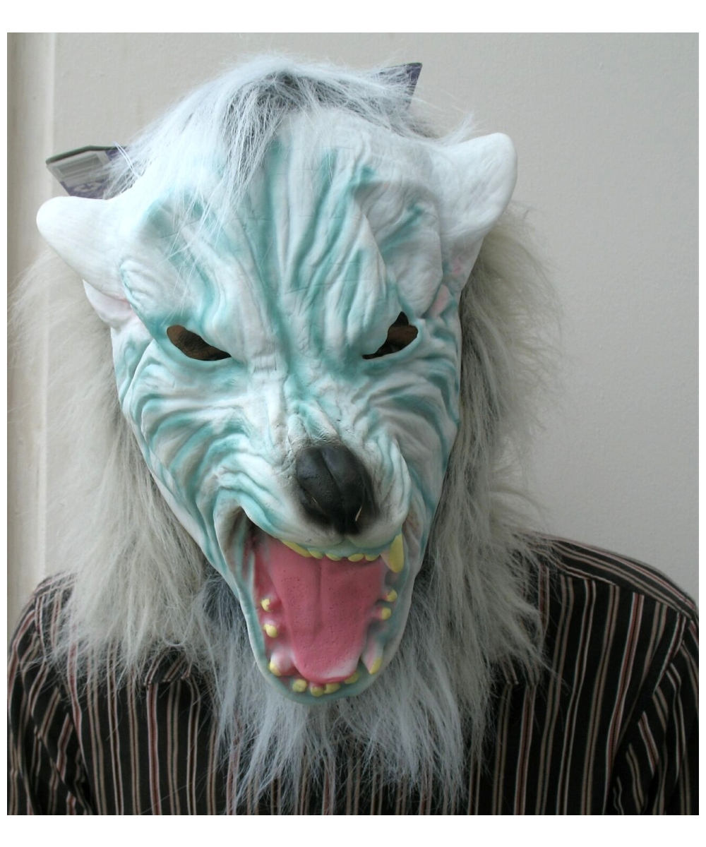 Silver Wolf Hair Mask