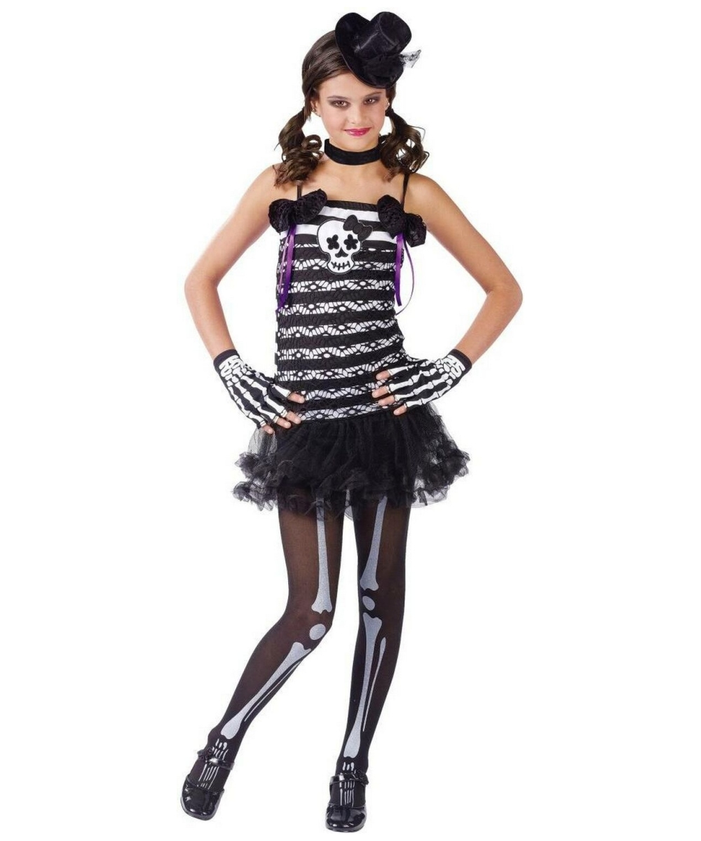Skeleton Sweetie Costume Teen Skelton