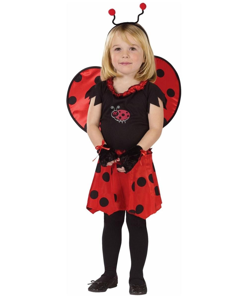 sweetheart lady bug toddler costume