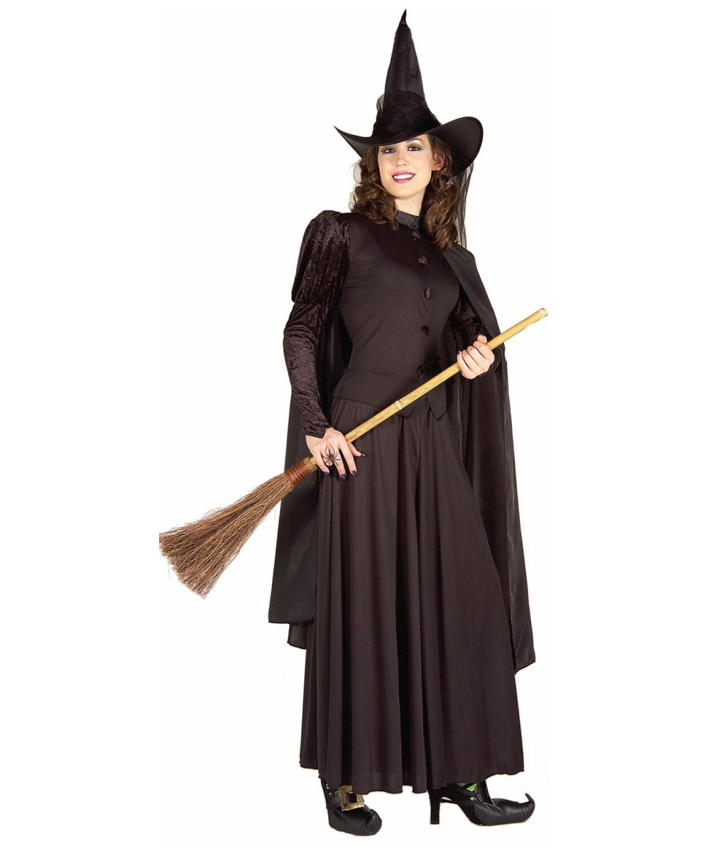 Black Witch Womenu0027s Costume  sc 1 st  Wonder Costumes & Witch Halloween Adult Costume - Womenu0027s Witch Costumes