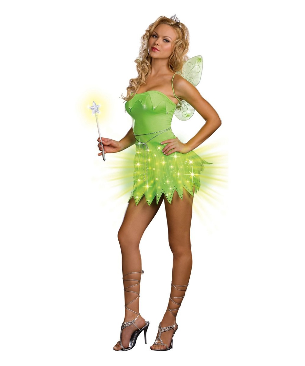 Bright Sprite Costume Adult Fairy Halloween Costumes