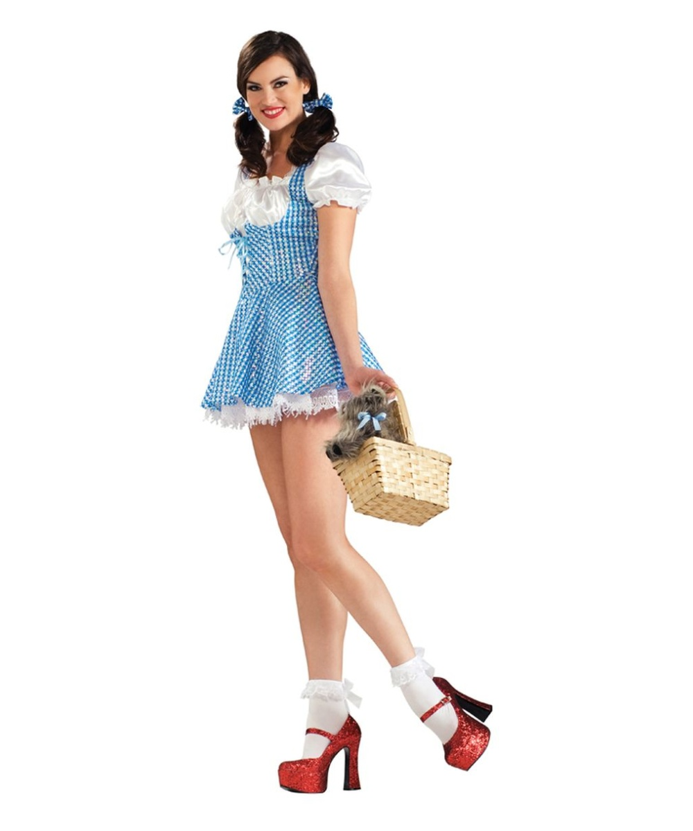 3a3d1ca9b509b Dorothy Dothy Sequin Costume - Adult Costume - Women Movie Costumes