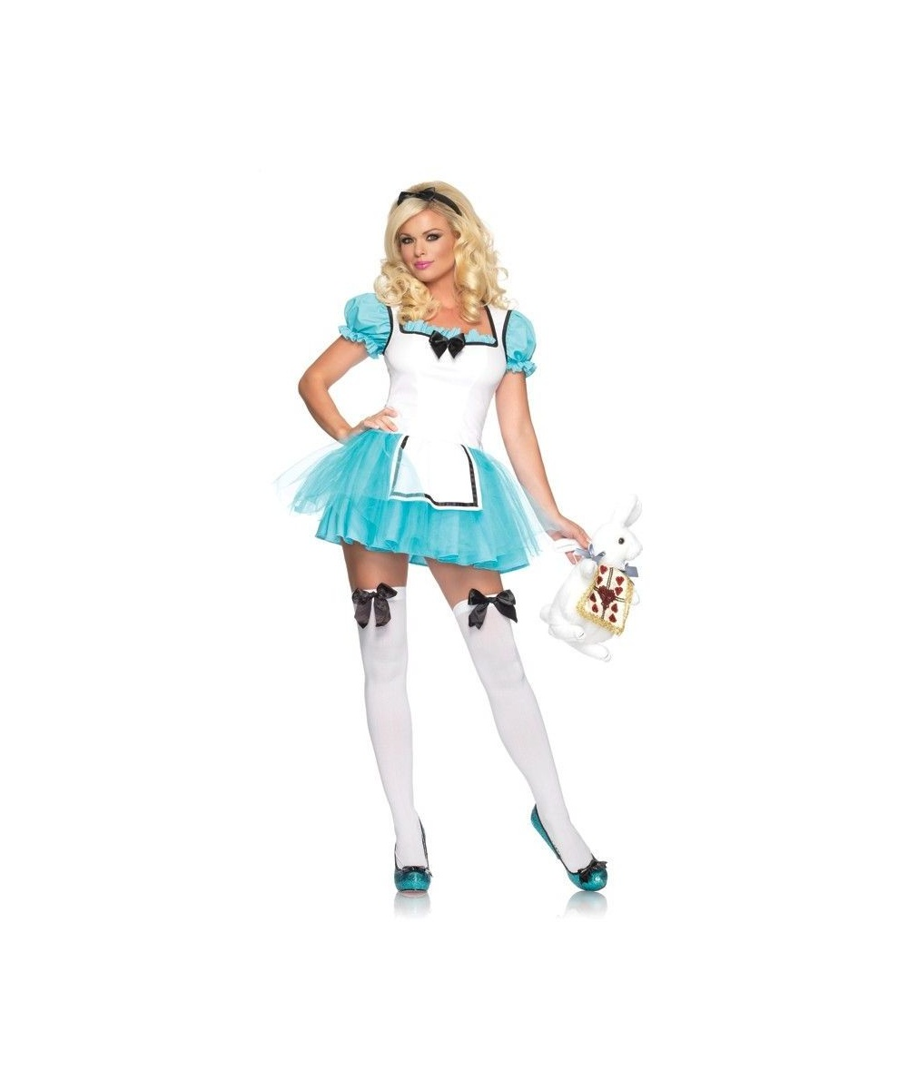 Womens Enchanted Alice Costume