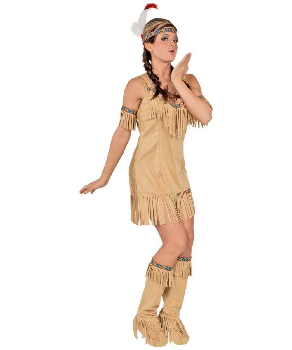 native princess indian adult costume - women indian costume