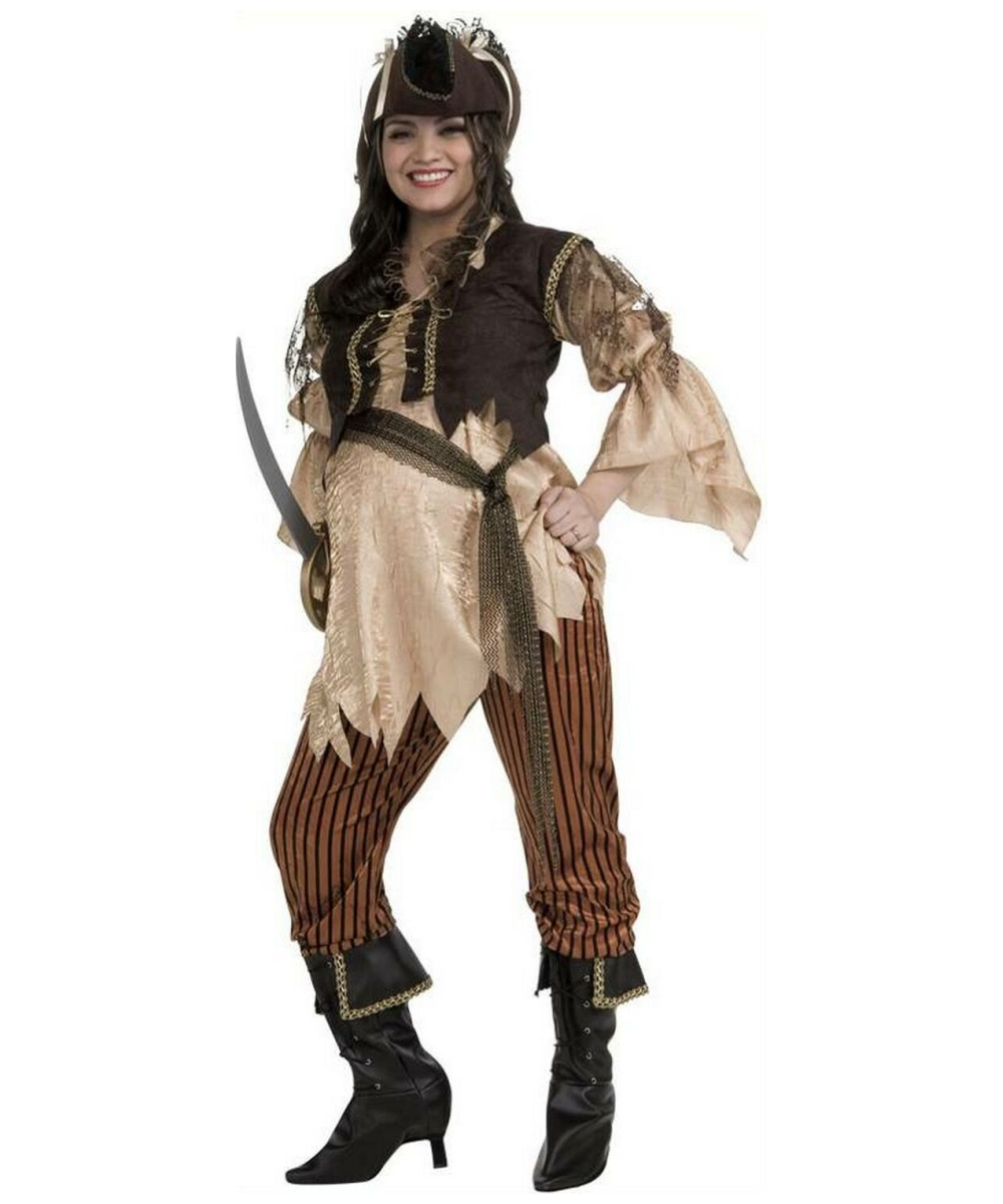 sc 1 st  Halloween Costumes & Adult Maternity Pirate Queen Halloween Costume - Pirate Costumes