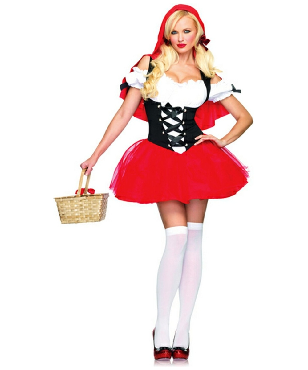 Adult Racy Red Riding Hood Movie Costume - Women Red Ridding ... d0f254c689