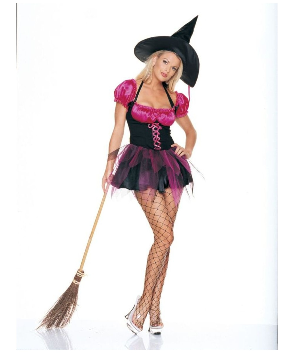 Womens Sexy Witch Costume