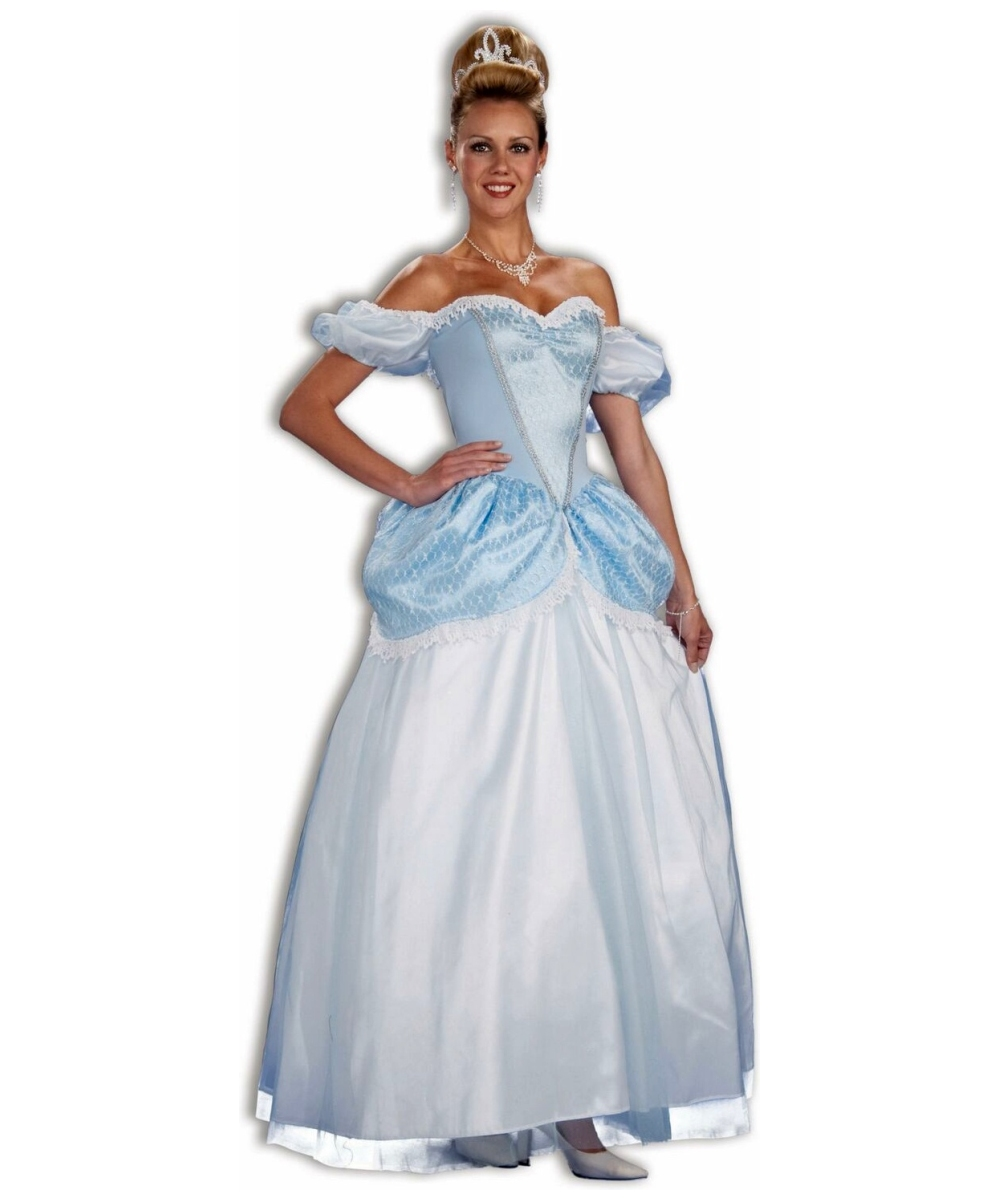 Womens Storybook Princess Cinderella Costume
