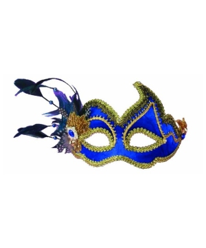 Royal Peacock Masquerade Adult Mask