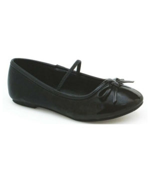 Black Ballet Flat - Kids Shoes