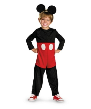 Mickey Mouse Disney Toddler Boys Costume
