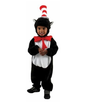 Cat in Hat Baby Costume