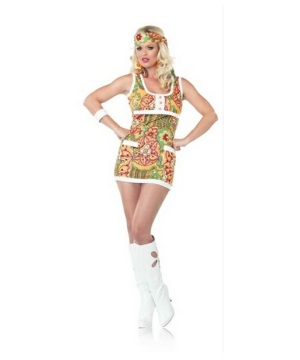 Far Out Hippie Women's Costume