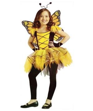 Girls Ballerina Butterfly Costume