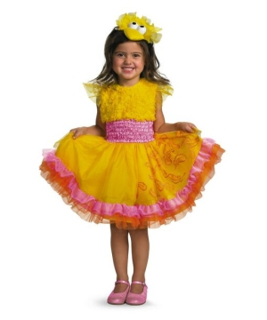 Sesame Street Frilly big Bird Girls Costume
