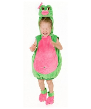 Girls Frog Baby Costume