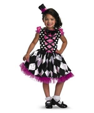 Girls Harlequin Honey Costume