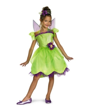 Girls Tinker Bell Costume