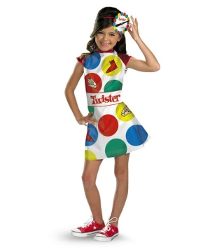 Girls Twister Costume Costume