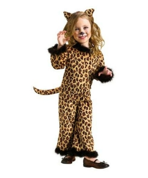 Pretty Leopard Baby Costume