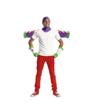 Buzz Lightyear Mens Costume Kit