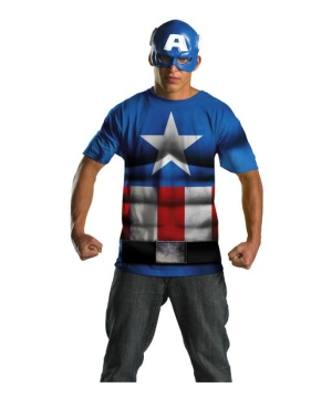 Mens Captain America Kit