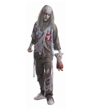 Mens Zombie Doctor Costume