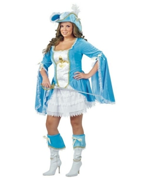 Musketeer plus size Costume