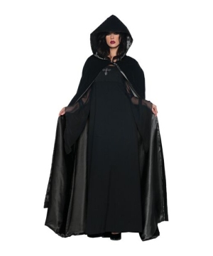 Satin Velvet Cape - Adult Cape - deluxe