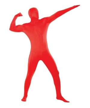 Skin Suit Red Costume