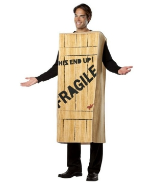 Story Fragile Wooden Crate Costume