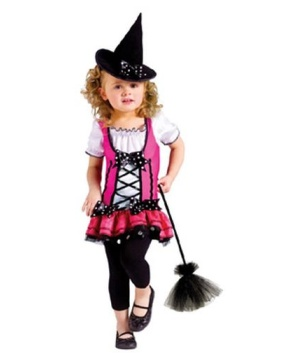 Sugar Pink Witch Toddler Costume
