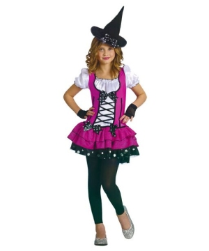Sugar Spice Witch Kids Costume