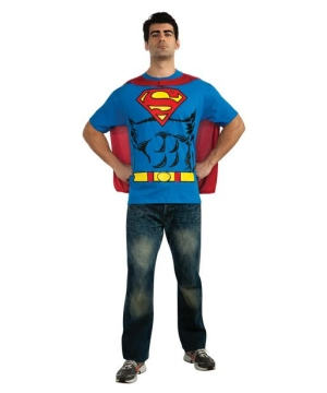 Superman Shirt Adult Costume