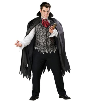 Vampire plus size Costume