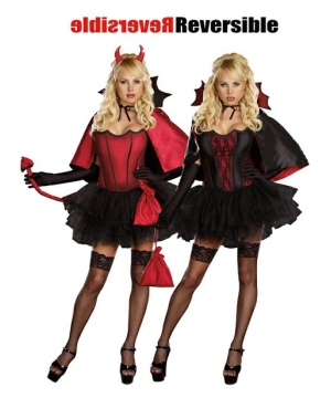 Devils Night Bite Women's Costume