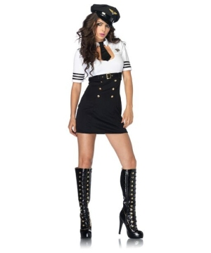 Womens First Class Captain Costume