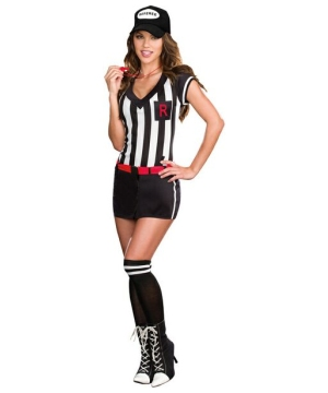 Womens Referee Cutie Costume