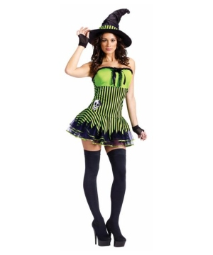 Womens Rocking Witch Costume